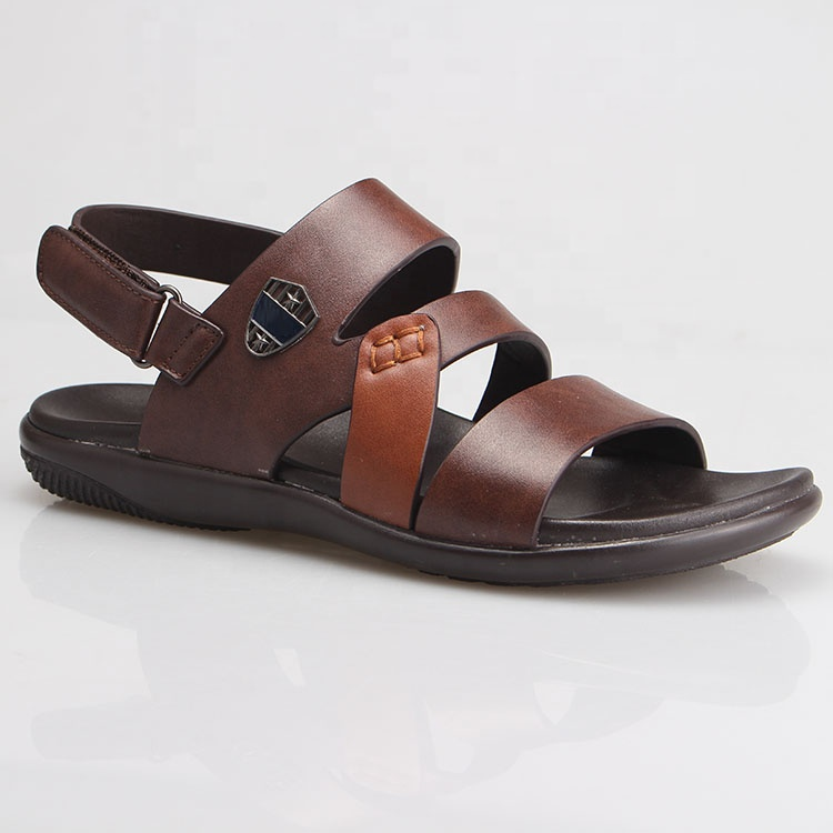 6c7cc989a07a Top Quality Casual Men Custom Genuine Leather Sandals Pu Sole Material For  Outdoor - Buy Children Sandals