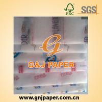 Bulk Blue Bread Tissue Packaging Paper