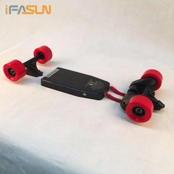 Ifasun Longboard Diy Motor Kit Colorful Wheels Aluminium Trucks Electric Skateboard Buy Electric Skateboard Electric Skateboard Kit Electric