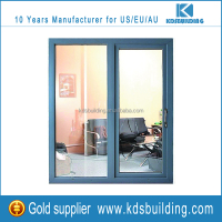 Double Glazing Aluminum Balcony Casement Door With Modern Design