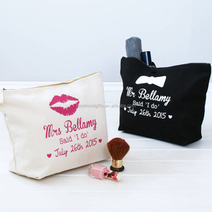 Alibaba wholesale high quality cotton toiletry bag