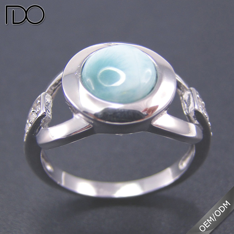 2017 hot sale larimar university graduation rings