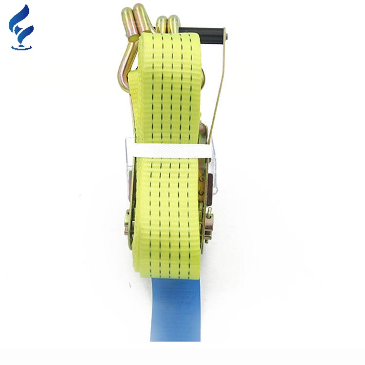 Hot Sell Excellent Quality 100% Polyester 50MM Cargo Lashing Belt For Lifting