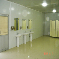 China made simple light steel modular cheap prefabricated house