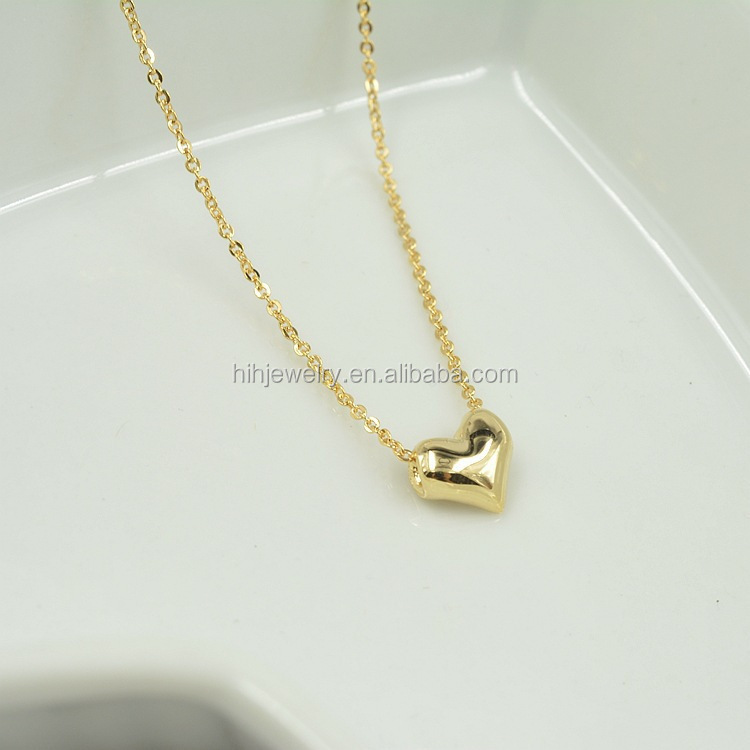 Heart Pendant For Best Friend Fake Gold Heart Necklace Latest ...
