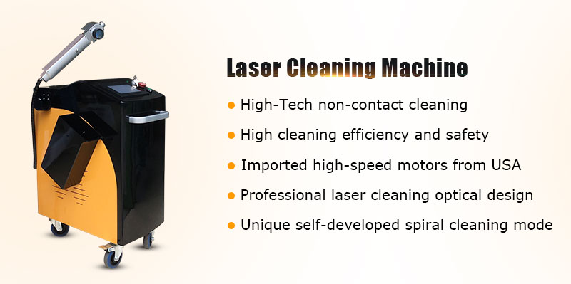MRJ-Laser Laser cleaning machine 100w 1000W metal rust removal