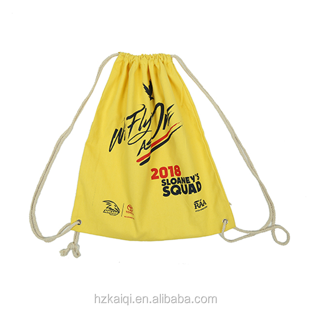 Souvenirs cotton rope cotton canvas fabric drawstring bag