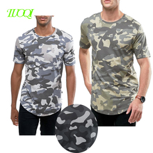 Men's Round Neck Cheap Price High Quality Sublimation Printing Casual Camo T Shirt