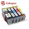 Compatible ink cartridge of PGI-250 CLI-251 PGI 250XL CLI 251XL for MG5420 MG6320 MG6320 White MX722