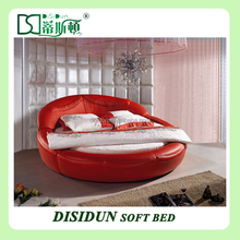 modern king size round bed