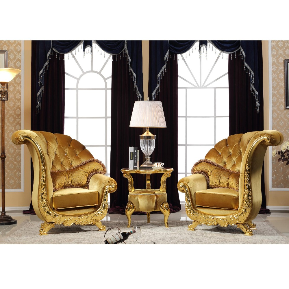 la meilleure attitude 03fec 4a48a Fs2039 Luxury Antique Chesterfield Gold Leisure Restaurant Single Chairs  Hotel Room Salon Display Chair - Buy Antique Chesterfield Single Sofa ...