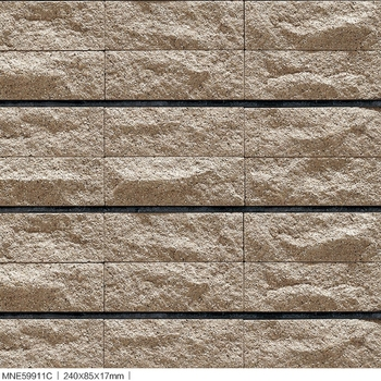 Beautiful Looking Of River Sand Stone Surface Split Rock Exterior Wall Tiles