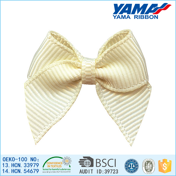 Grosgrain ribbon large hair bows