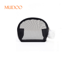 Wholesale Women Nylon Mesh Cosmetic Bag