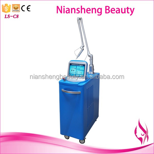 2017 Medical q switched alexandrite long pulse Nd yag laser tattoo removal machine