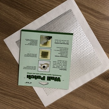 "fiberglass repair wall patch with aluminum metal board 2""x2"" 4""x4"" 6""x6"" 8""x8"""