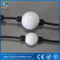 AC110V 220V high quality D35 big ball waterproof led string christmas light outdoor street wedding lamp lighting