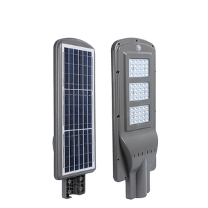 High efficiency light control IP65 outdoor 20watt 40watt 60watt 80watt 100watt all in one solar led street light