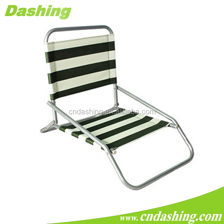 Wholesale high qulity camping lawn chair foldable Picnic low seat beach chair