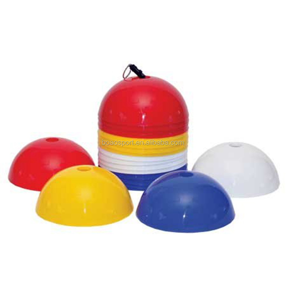Free Sample Soccer Plastic Agility Dome Cones Rigid Dome Cone Sets