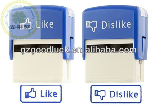 UV self-inking stamp/UV ink rubber stamp for plastic/UV ink stamp for diary