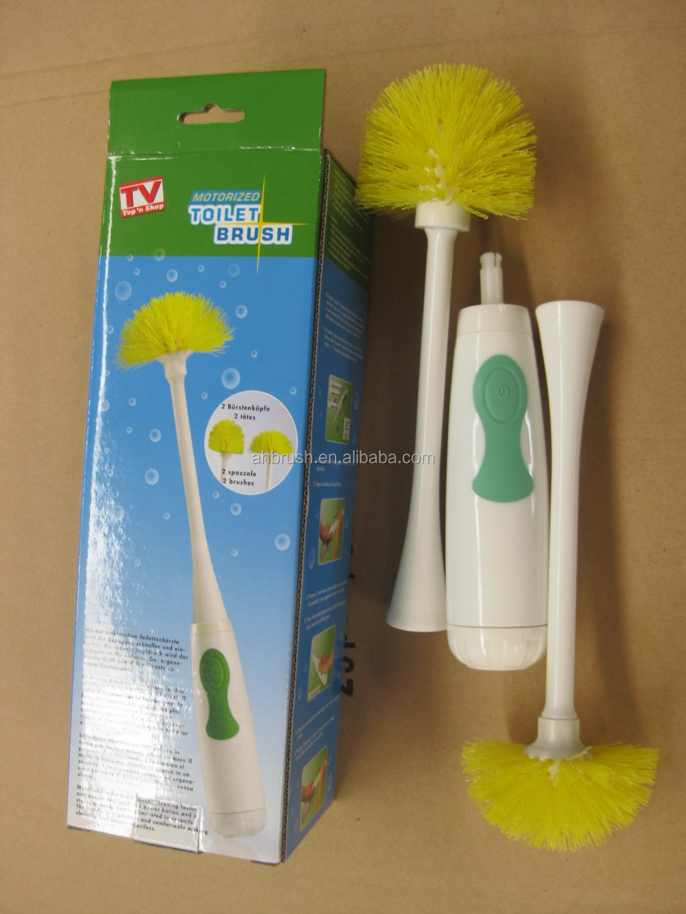 Battery operated electric toilet cleaning brush from china