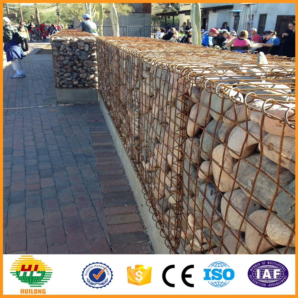 Stein käfig für stützmauer aus stein käfig drahtgeflecht/käfig für ...