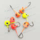 low price full color all type of lead jig head , lead fishing