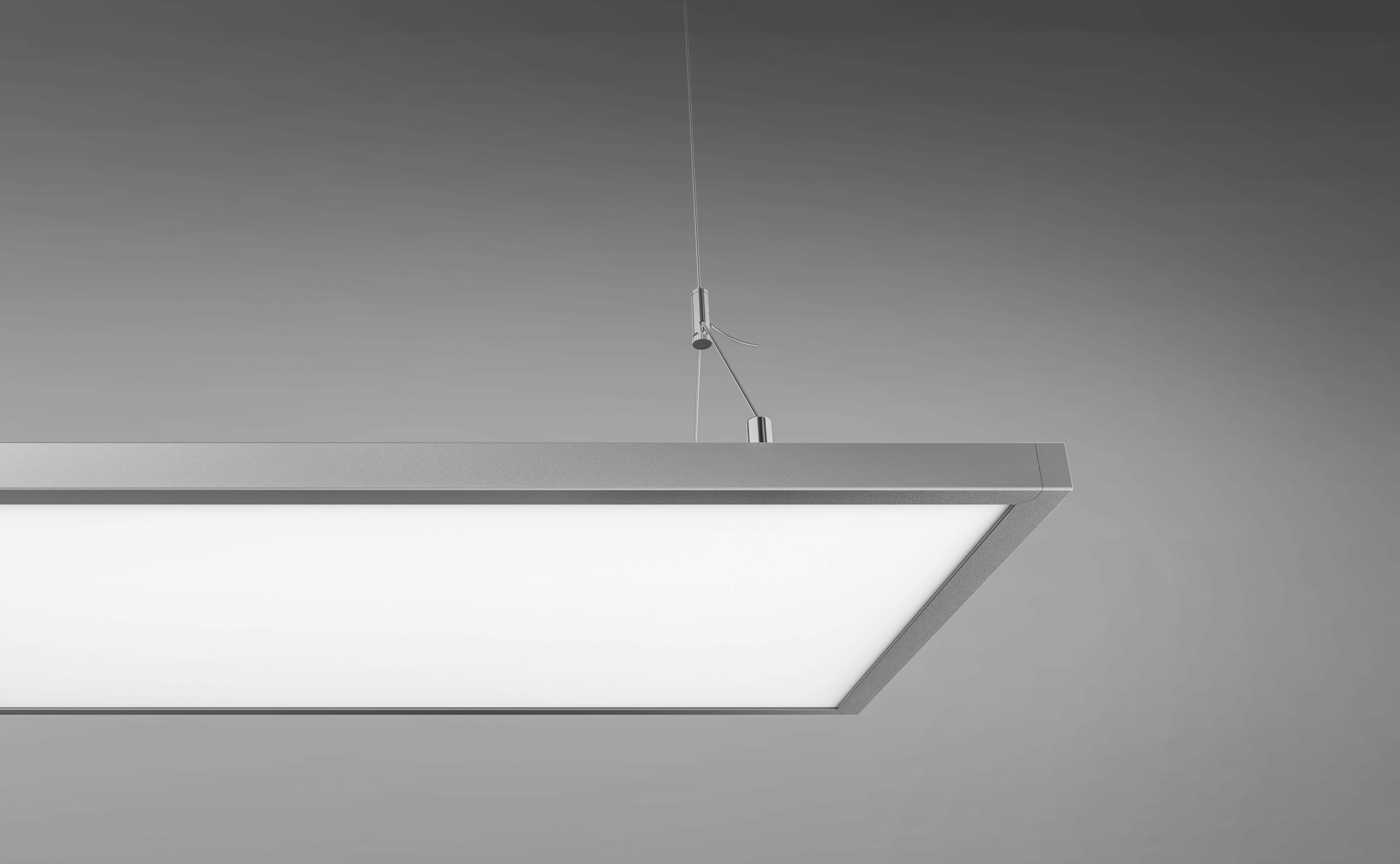 Inlity Flat Lamp Lighting 24w 4000K Square Led Panel Light Hot Selling long led pendant light For the office
