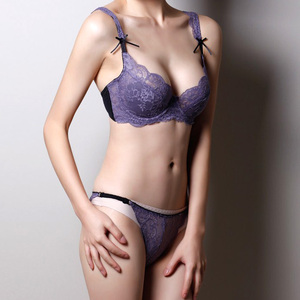 comfortable convertible bra set with brief panty
