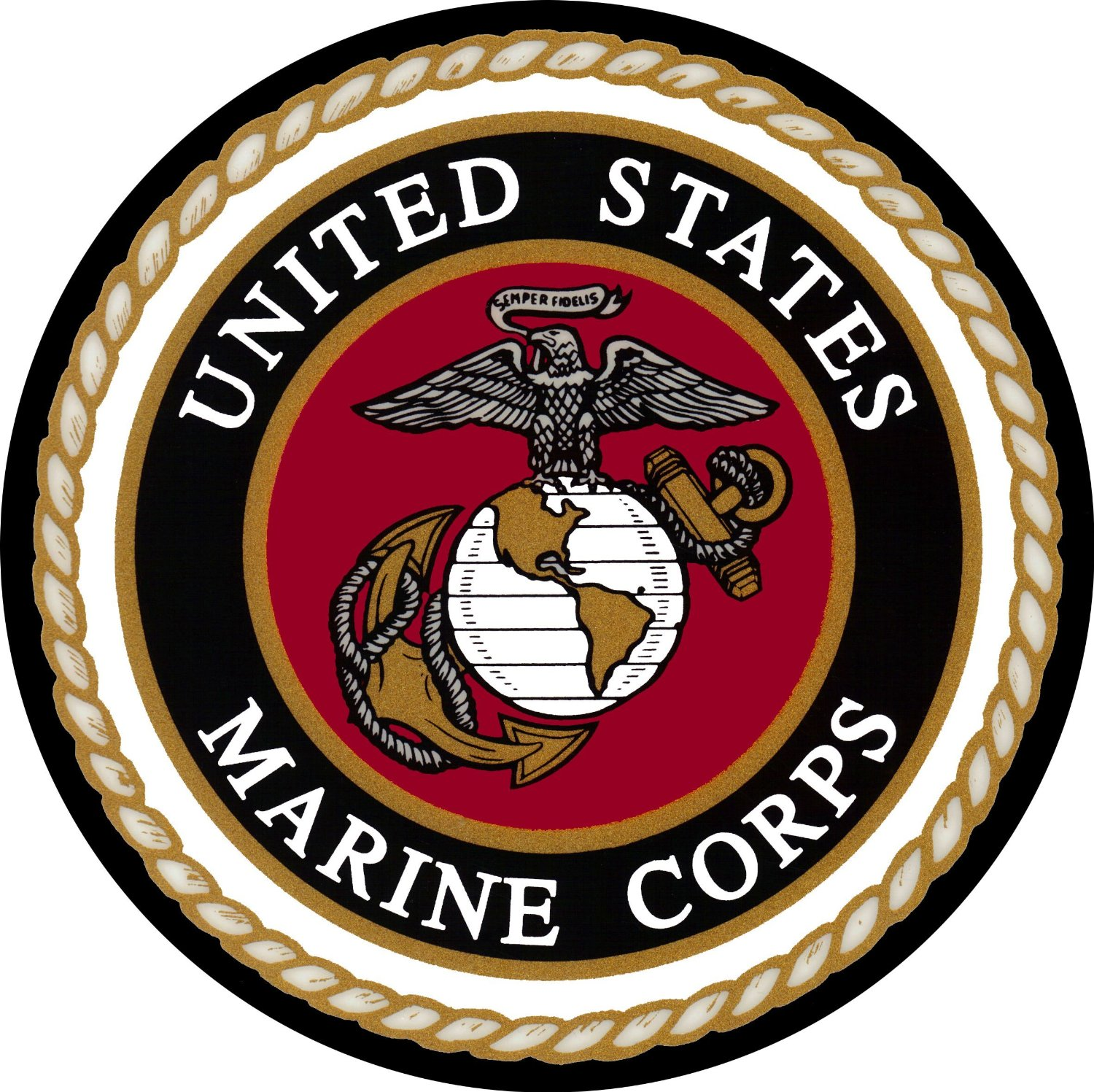 Marines Spare Tire Cover for Jeep RV and more (Select from popular sizes in drop down menu or contact us-ALL SIZES AVAILABLE)
