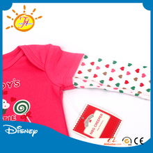 Wholesale Baby Bodysuit Print Cotton Infant Creeper One Piece Snapsuit Baby Shower Gift