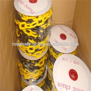 Traffic safety 6mm 8mm plastic chain link