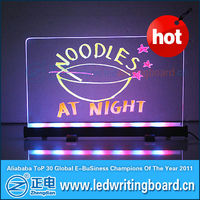 [ZD] Desktop LED Board--notice &menu board for sale