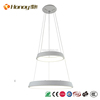 Wholesale high quality simple design modern 60 W LED indoor round pendant light for kitchen room