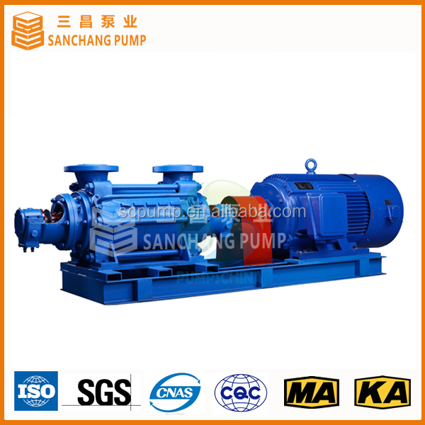 Efficient multiple-stage centrifugal pump for rain water