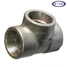 CS PIPE FITTINGS EQUAL TEE ANSI B16.9 SCH 160 ASTM A234 WPB
