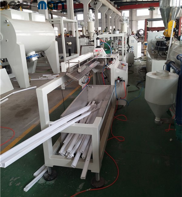 India market popular LED frosted diffuser strip light tube making machine with PC PVC material
