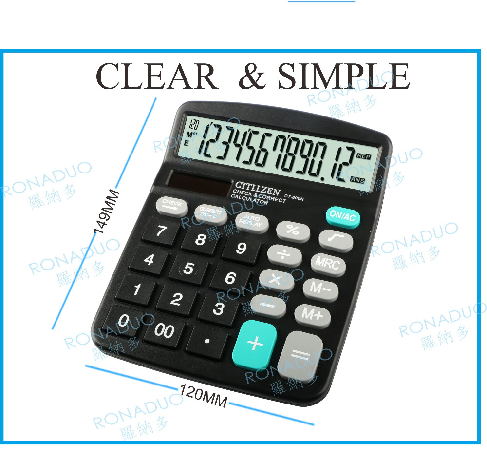 ruler calculator with clock calculator with pen set ronaduo 837 calculator