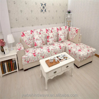 Hot Printing Sofa Cover Sets For