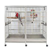 large macaw parrot cage with wheels big size animal cages B36