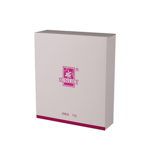 Hot sale OEM spot UV recycling carton cosmetic paper box