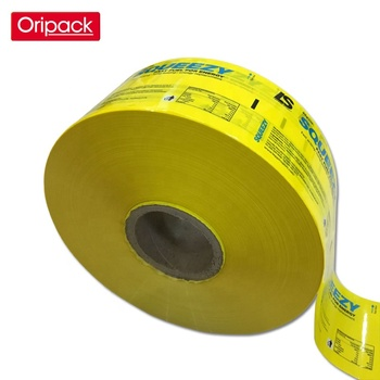 Customized printed packaging laminated roll PE film