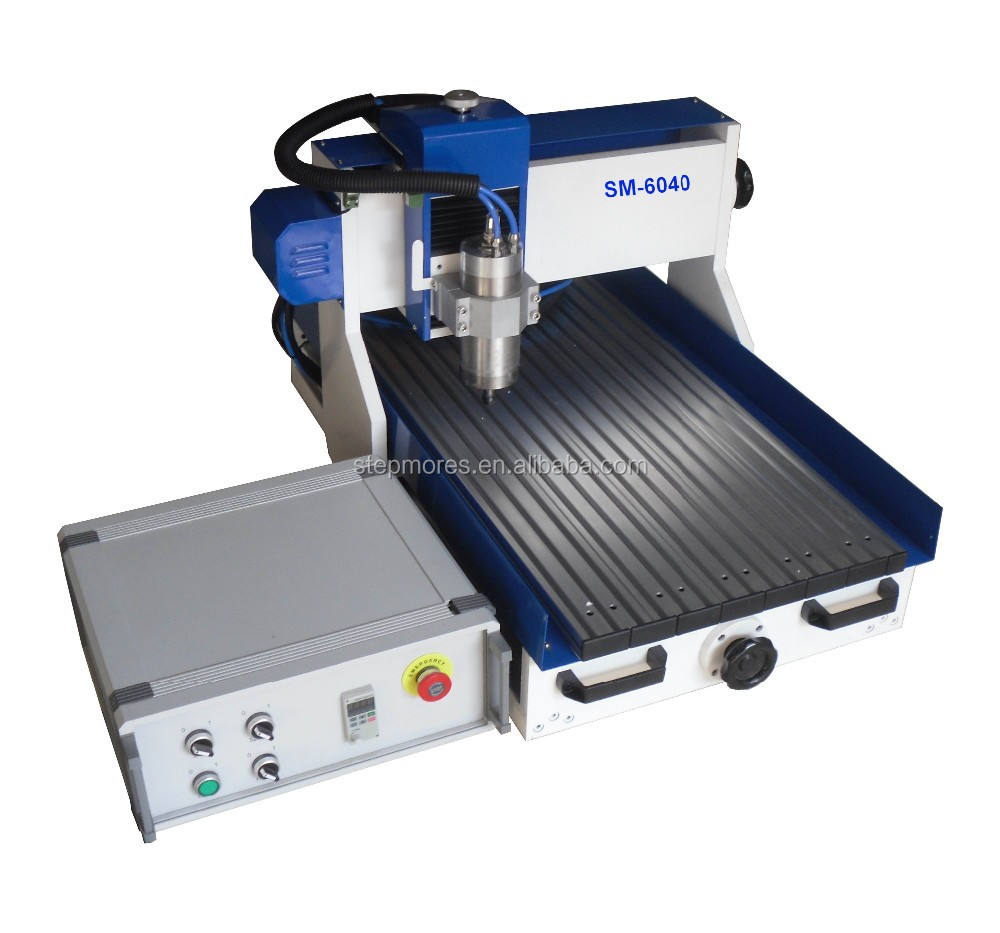 Hot sale! support Artcam and Type3 software mini table top cnc router 6040(600x400mm)