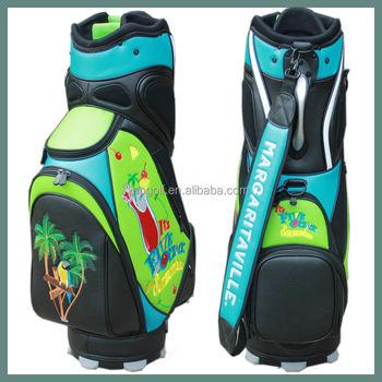 High Quality Usa Custom Golf Bag Embroidery