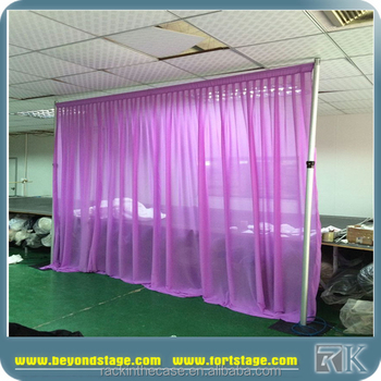 aluminium pipe and drape support system wedding event backdrop