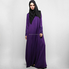 Latest fashion arab clothing OEM muslim dress beading jubah with hijab wholesale islamic clothing