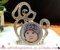 Made in china alloy lovely baby photo frames