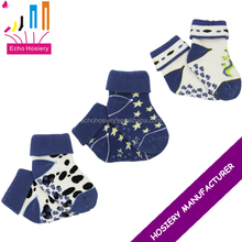 Cheap 100 Cotton Baby Socks With Rubber Bottoms