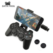 Data Kikker Android Wireless Gamepad Voor Android Telefoon/PC/<span class=keywords><strong>PS3</strong></span>/TV Box <span class=keywords><strong>Joystick</strong></span> 2.4G Joypad Game controller Voor Xiaomi Smart Phone
